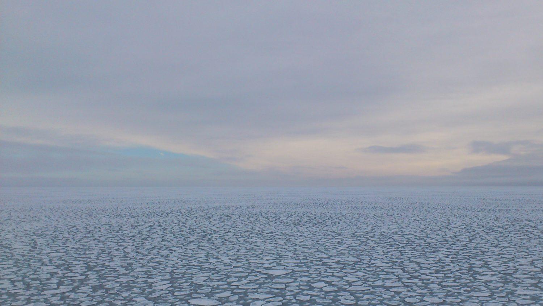 плавающий лёд