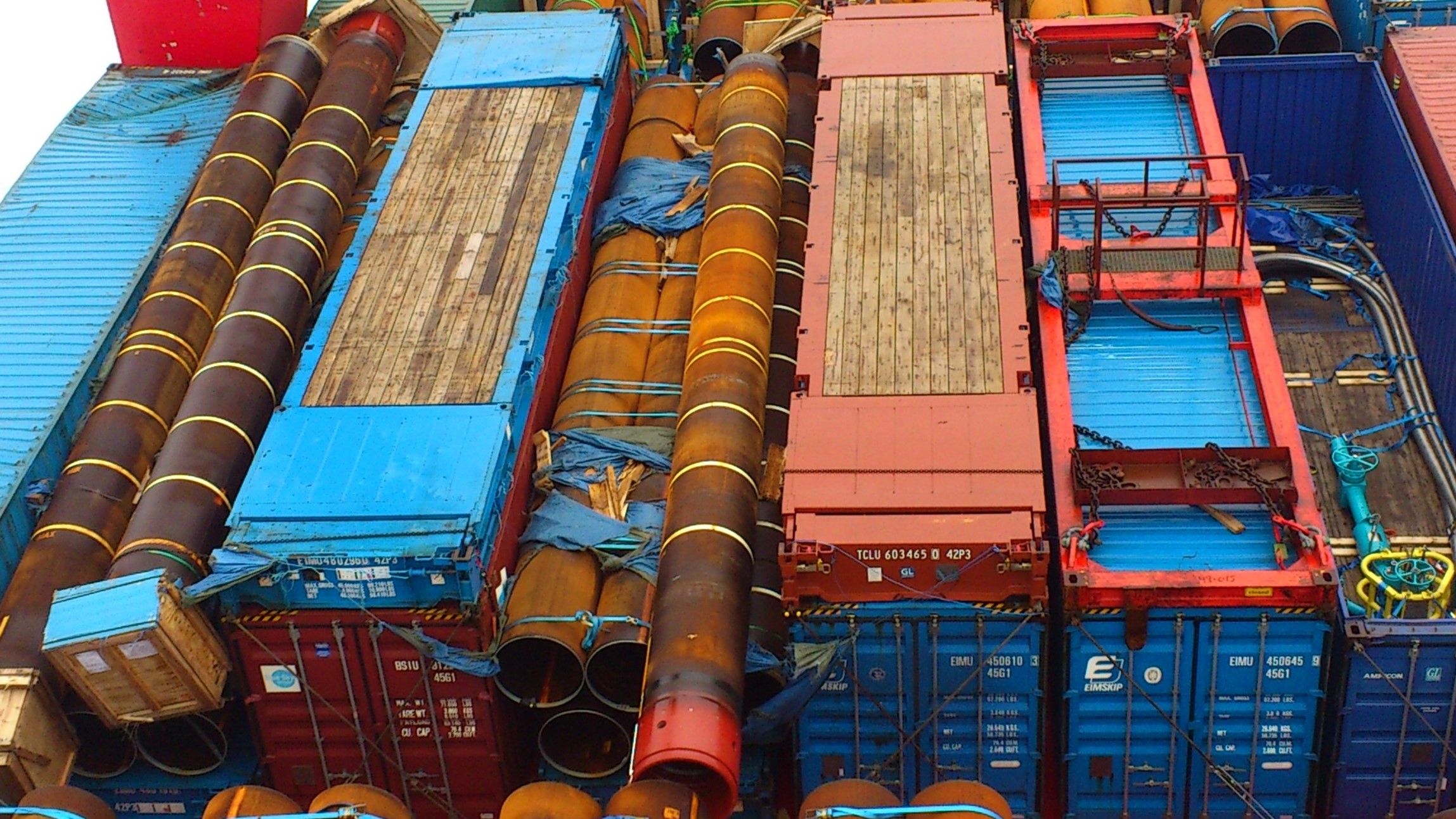 груз в контейнерах
