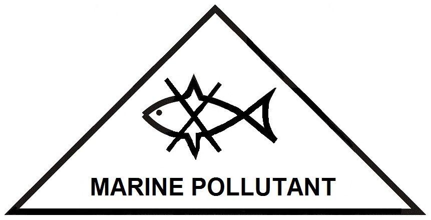 загрязнитель моря треугольник