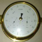 Морской барометр.