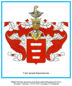 Герб дворян Баратынских