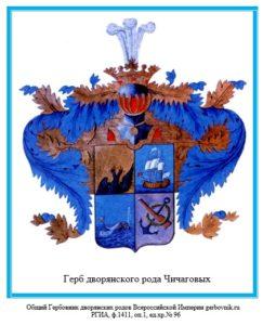 Герб дворян Чичаговых