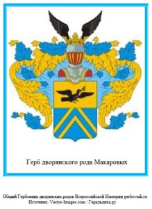 Герб дворян Макаровых