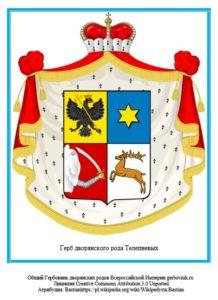Герб дворян Телепневых