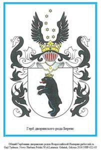 Герб дворян Беренс