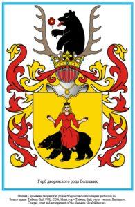 Герб дворян Волоцких.