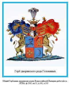 Герб дворян Головиных