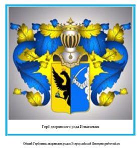 Герб дворян Игнатьевых