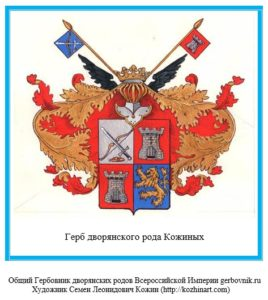 Герб дворян Кожиных