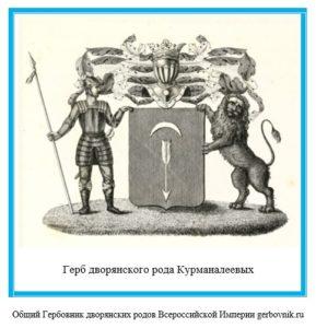 Герб дворян Курманалеевых