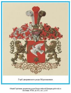 Герб дворян Муромцовых