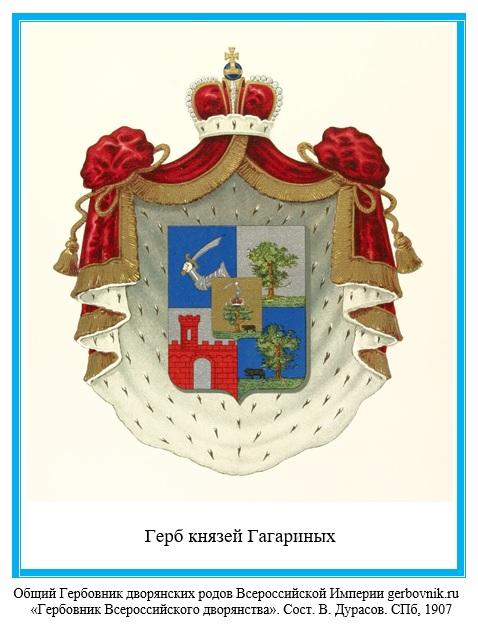 Герб князей Гагариных