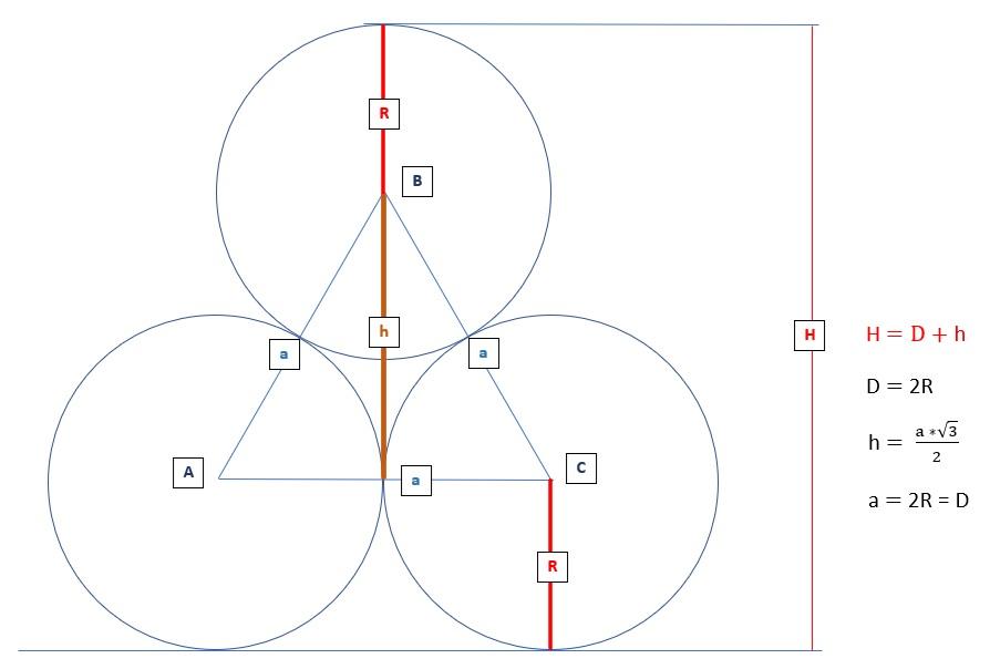 Рисунок с равносторонним треугольником