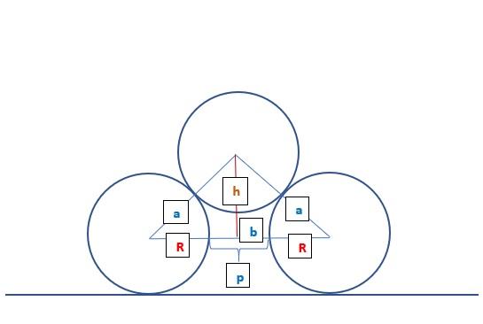 Рисунок с равнобедренным треугольником